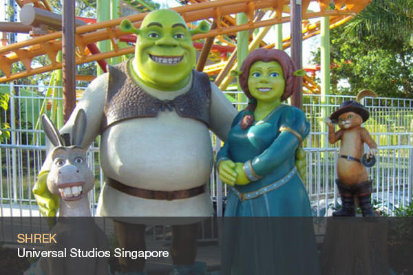 SHREK @Universal Studios Singapore