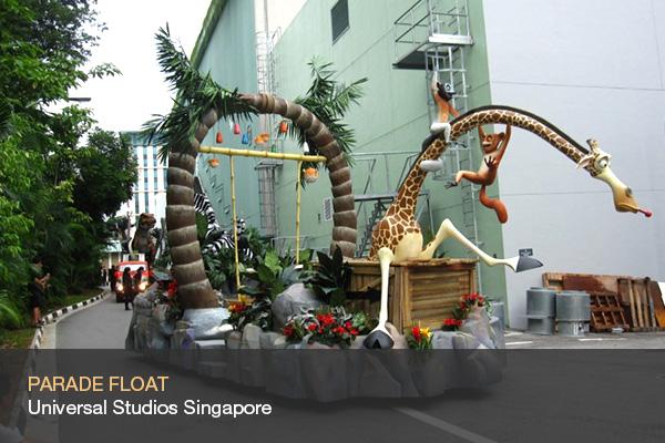 PARADE FLOAT @Universal Studios Singapore