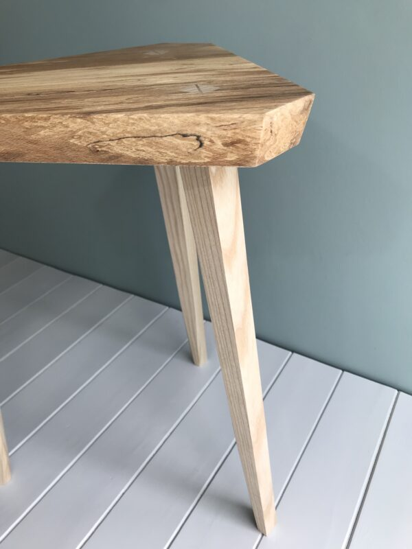 Spalted side table