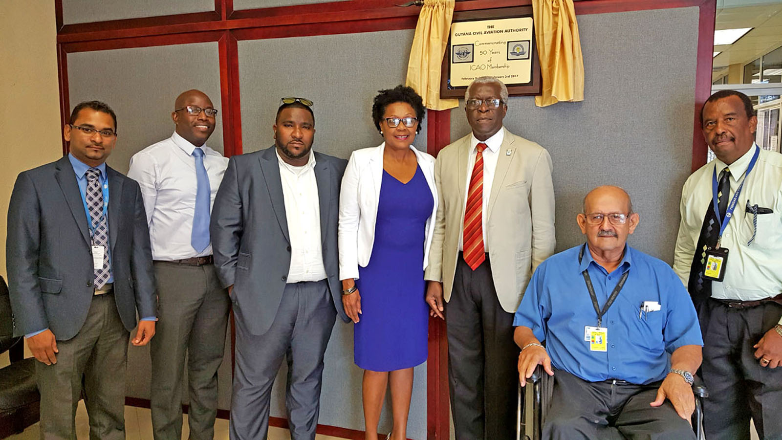 GCAA hosts LIAT and Ogle International Airport meeting