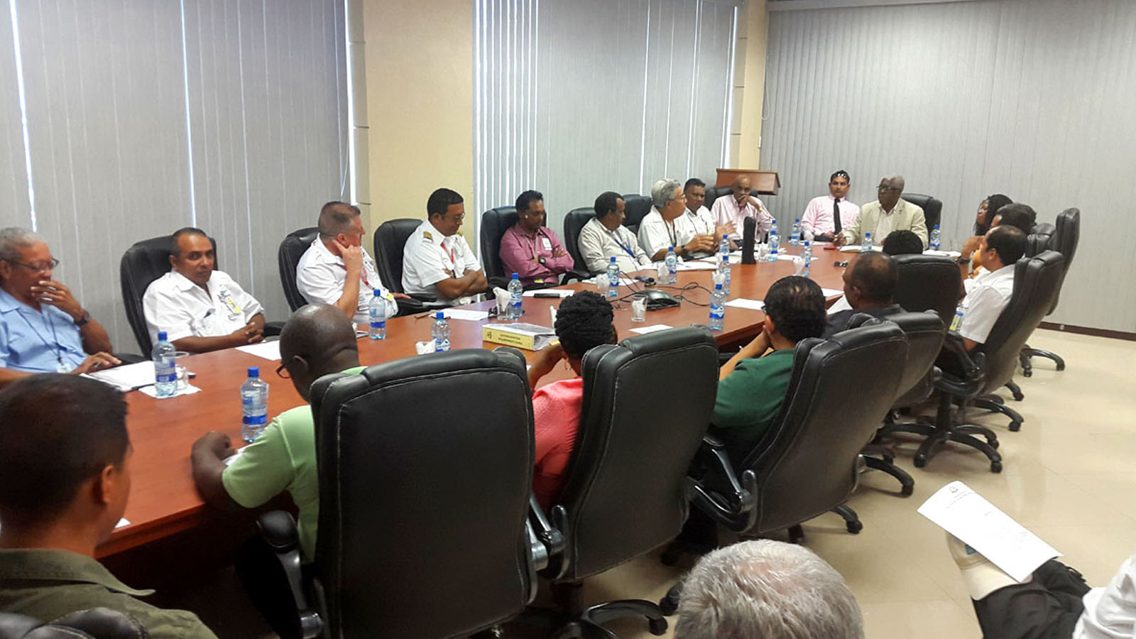 GCAA Officials meets with Airline Operators