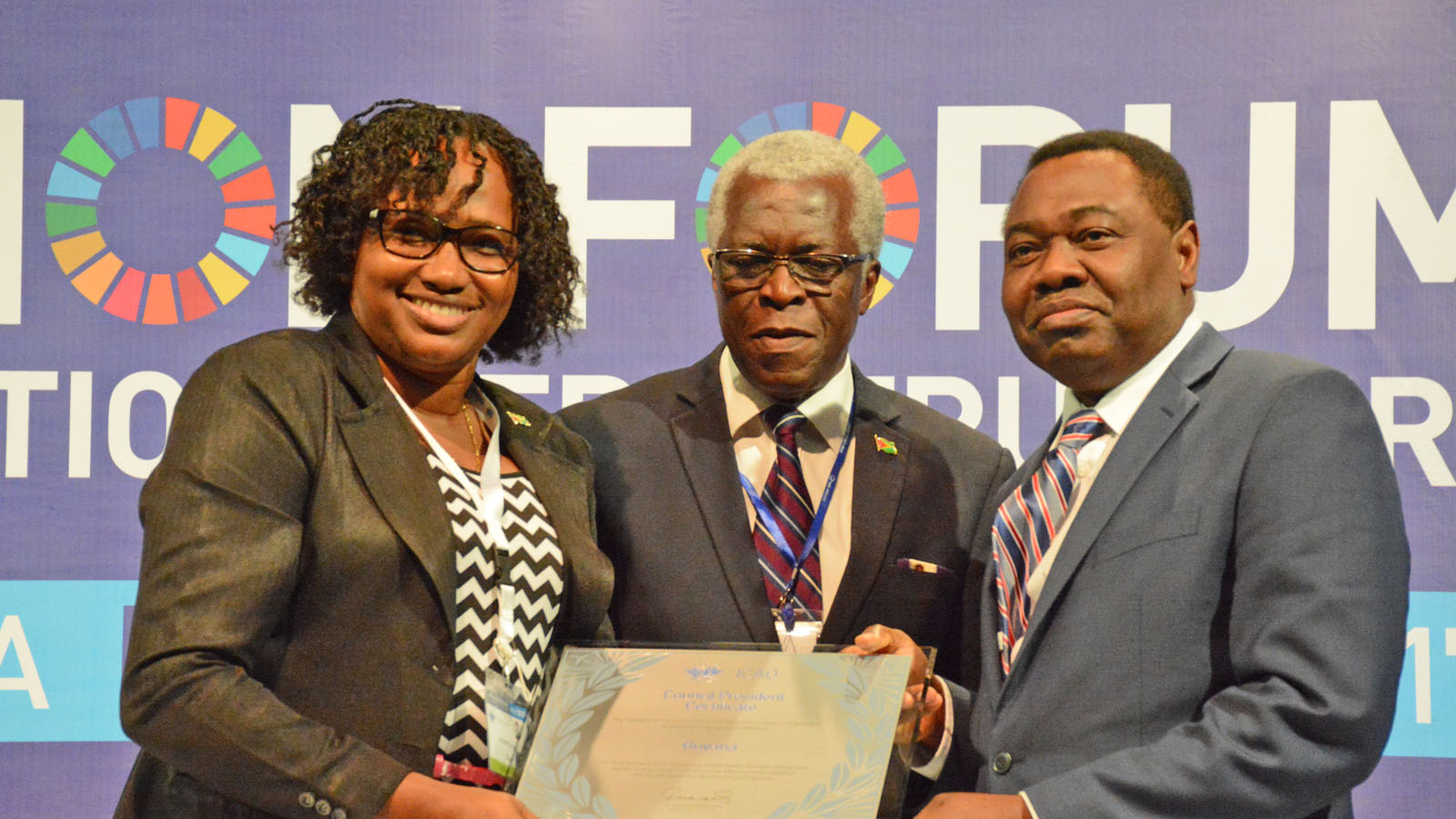 Guyana Recognised as Most Improved Member State at Aviation Forum