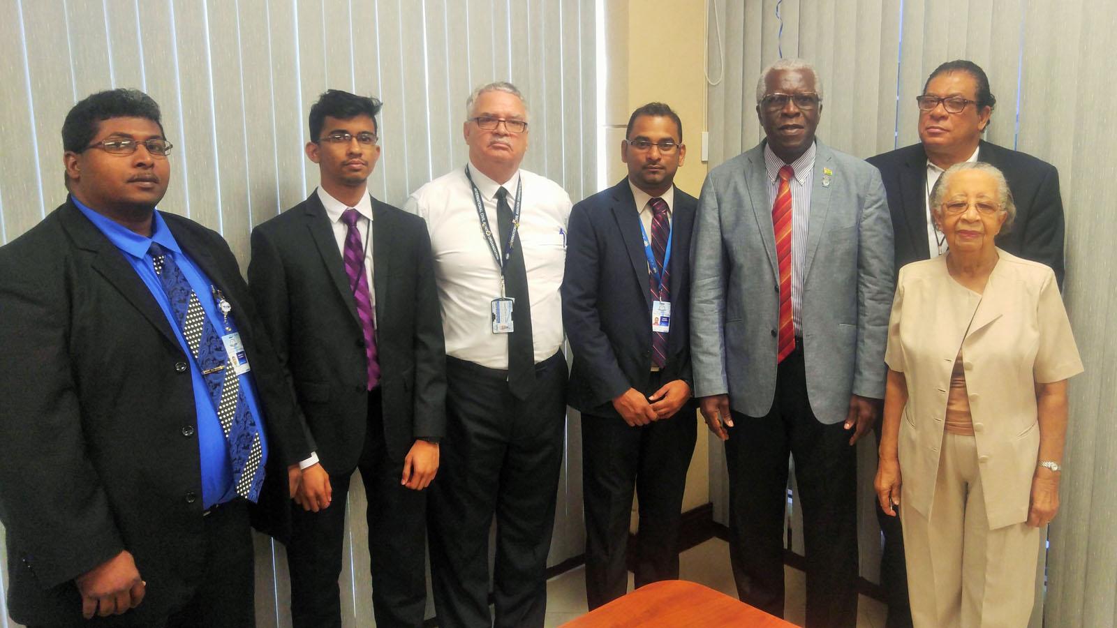 GCAA meets with Fly Jamaica Airways