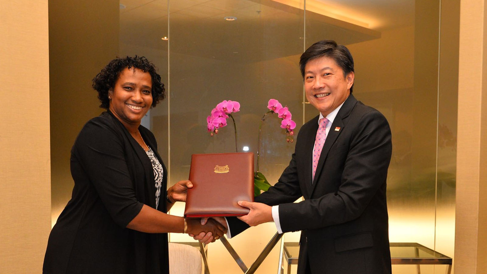 Guyana signs Air Services Agreement with Singapore