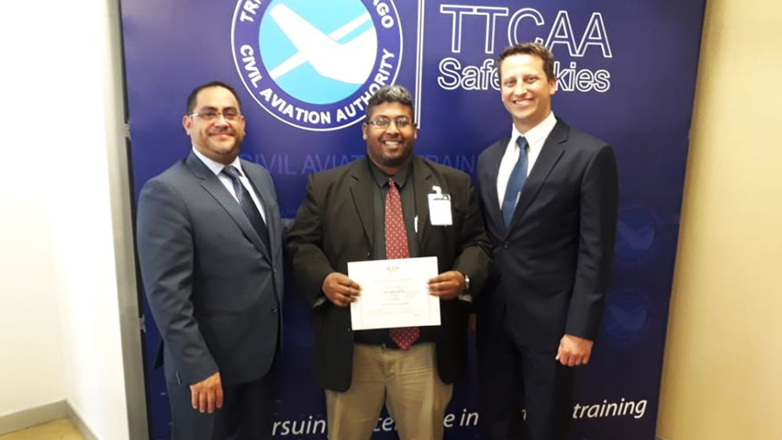 Guyanese Accredited as an ICAO Aviation Security Auditor