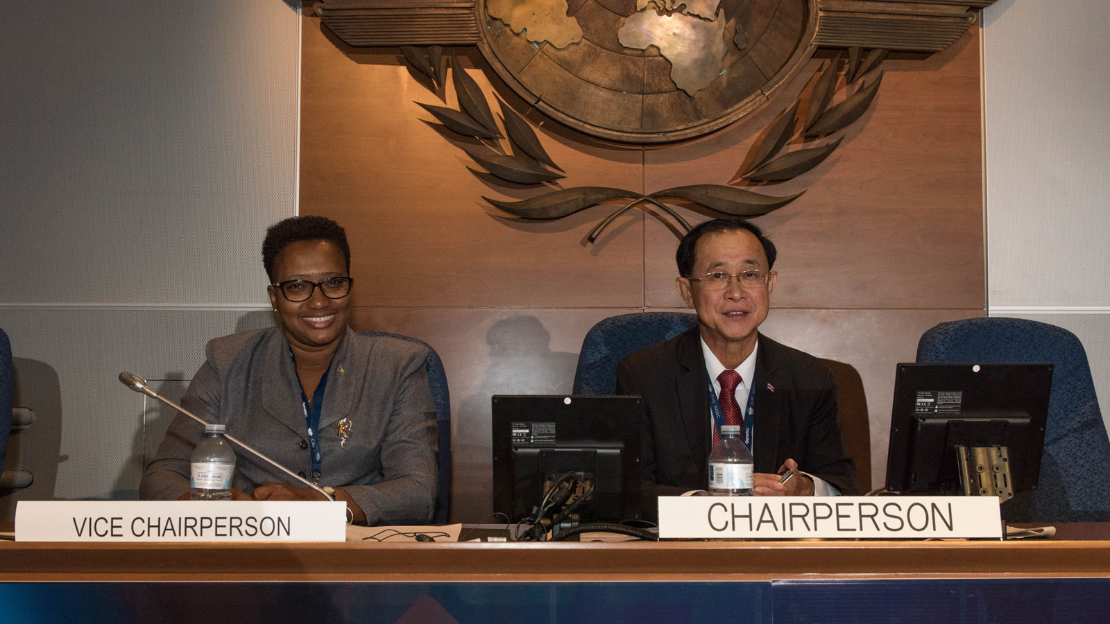 Minister Annette Ferguson co-chair ICAO Second High-Level Conference on Aviation Security