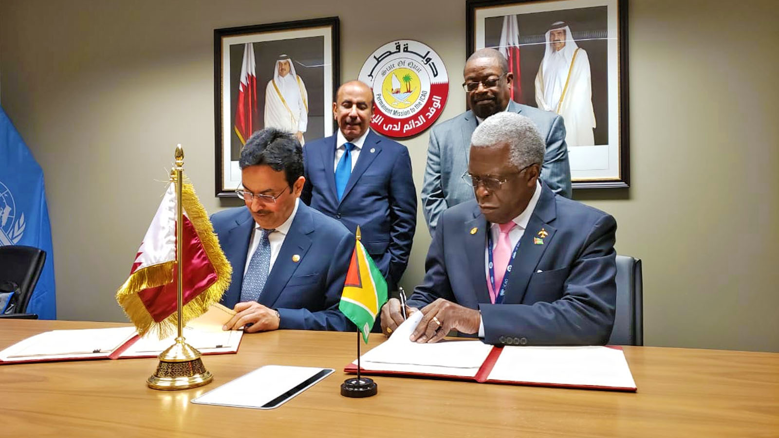 Guyana signs Air Services Agreement with the State of Qatar