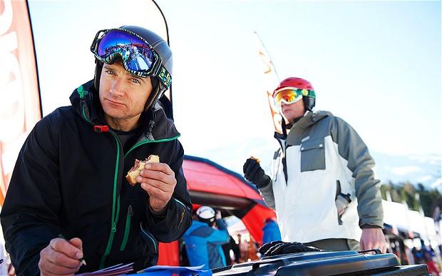 Martin Bell Ski test in Kuhtai