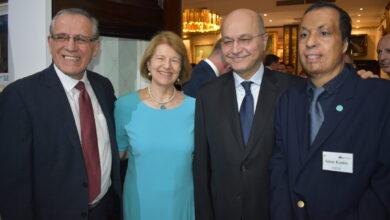 Photo of تستضيف IBBC حفل الاستقبال والعشاء على شرف فخامة الرئيس الدكتور برهم صالح في النادي الملكي للقوات الجوية في لندن