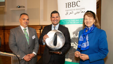 Photo of اقامة منتدى اعمال العراق لل IBBC ومنح جائزة رسمي الجابري الى شركة البرهان