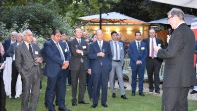 Photo of حضور أعضاء IBBC ووسائل الإعلام حفلة الصيف في لندن.
