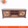 Carved Wood-way Solid Wood TV Cabinet