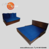 Eba Blue  Sofa cum Bed