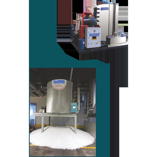 30 ton/day Flake Ice Machine