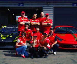 the team Scuderia Ferrari 84