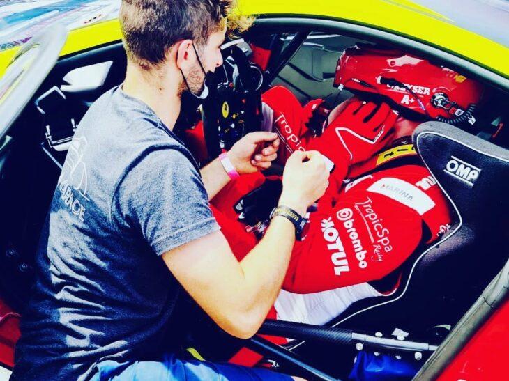 l'équipe de Monza Garage