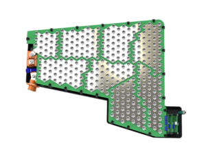 Batteriesystem Rumpf