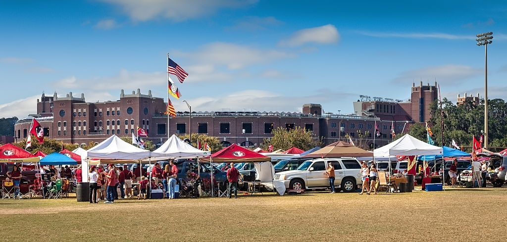 catered tailgate party