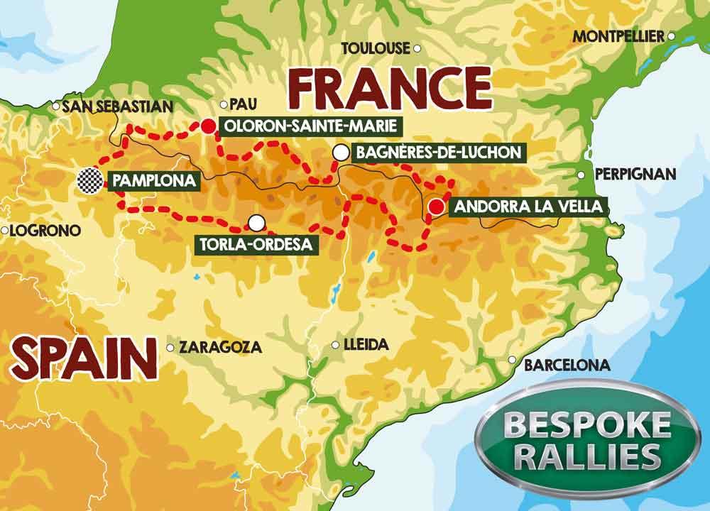 Bespoke Rallies - Pyrenees 1000 Rally, Worldwide Classic Car Rally & Touring Events