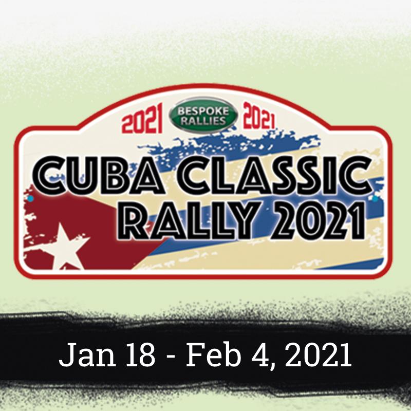 Bespoke Rallies - Cuba Classic Rally 2021, Worldwide Classic Car Rally & Touring Events