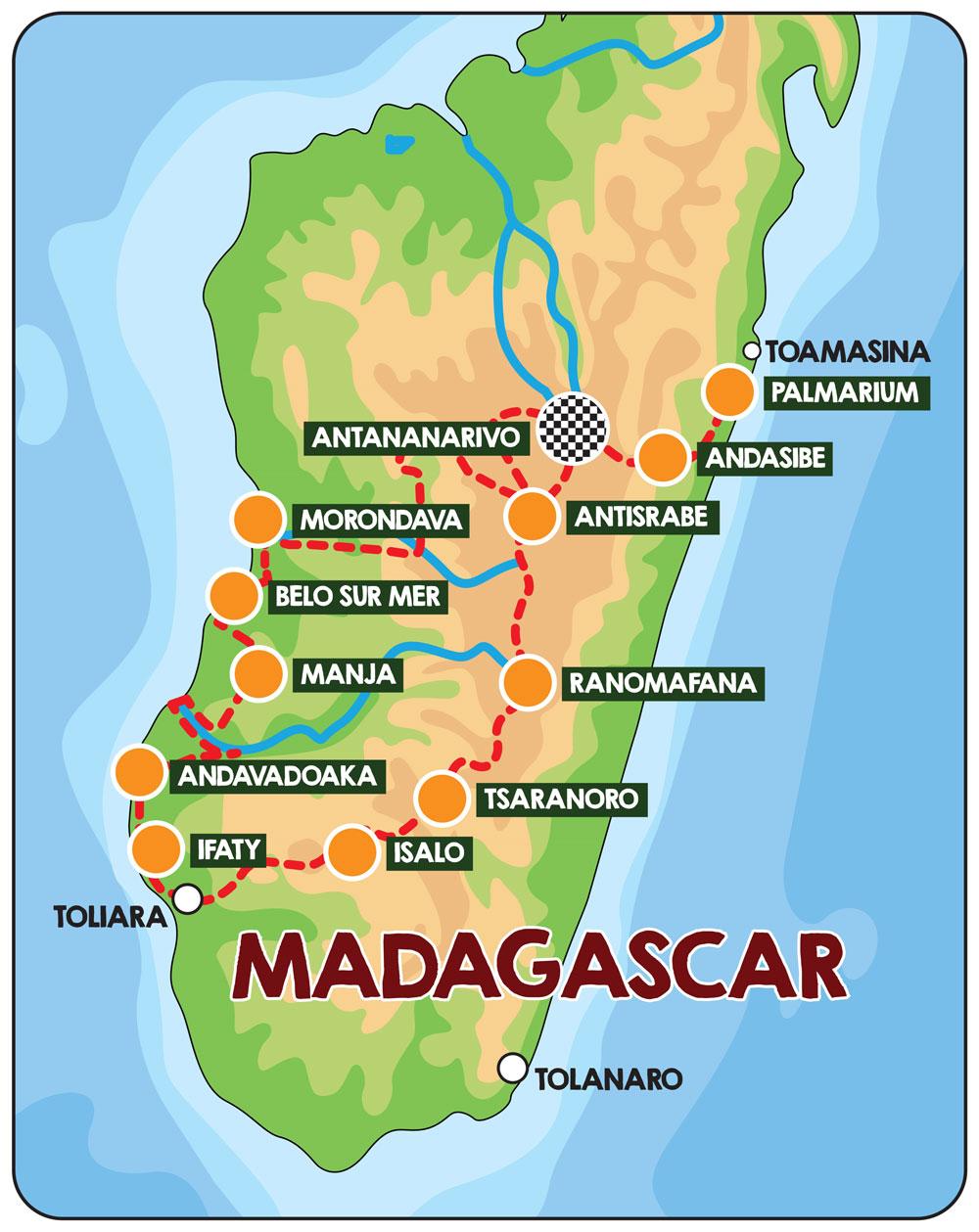 Bespoke Rallies | Magical Madagascar Rally 2019 | Classic Car Bespoke Rallies & Touring Events