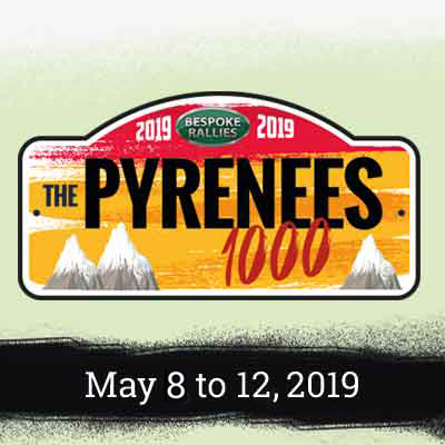 Bespoke Rallies   Pyrenees 1000 2019   Classic Car Rally & Touring Event