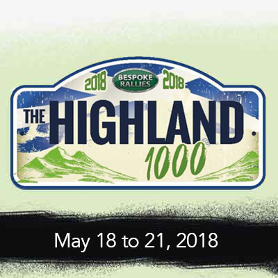 Bespoke Rallies   The Highland 1000 2018   Classic Car Rally & Touring Event