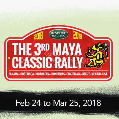 Bespoke Rallies | The 3rd Maya Classic 2018 | Classic Car Rally & Touring Event