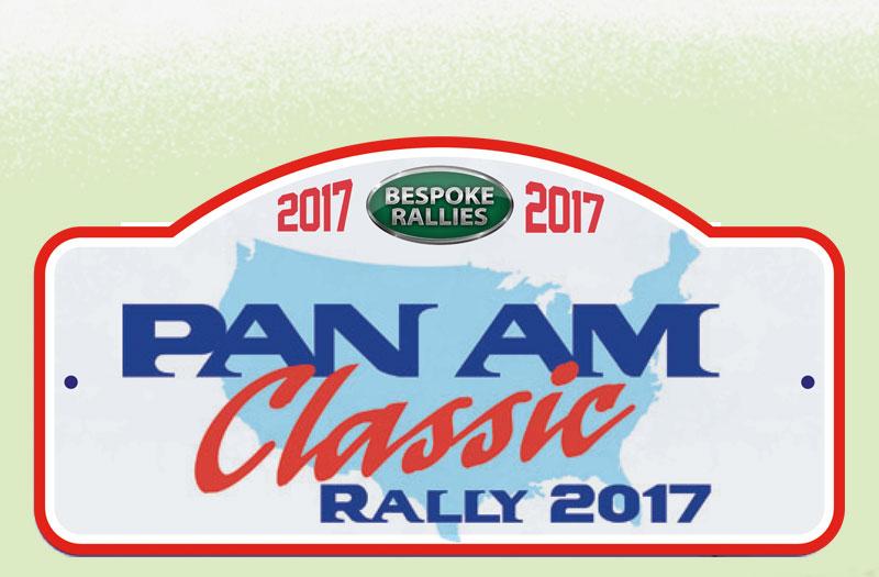 Bespoke Rallies   Pan Am Classic 2017   Classic Car Rally & Touring Event