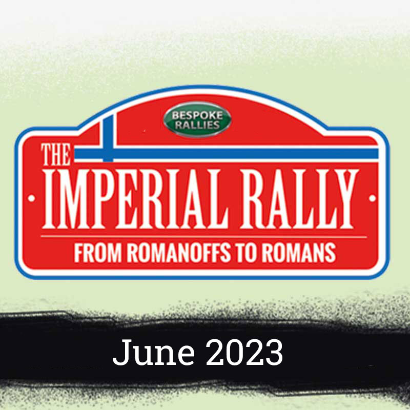 Bespoke Rallies   The Imperial Rally 2023   Classic Car Rally & Touring Event   June 2023