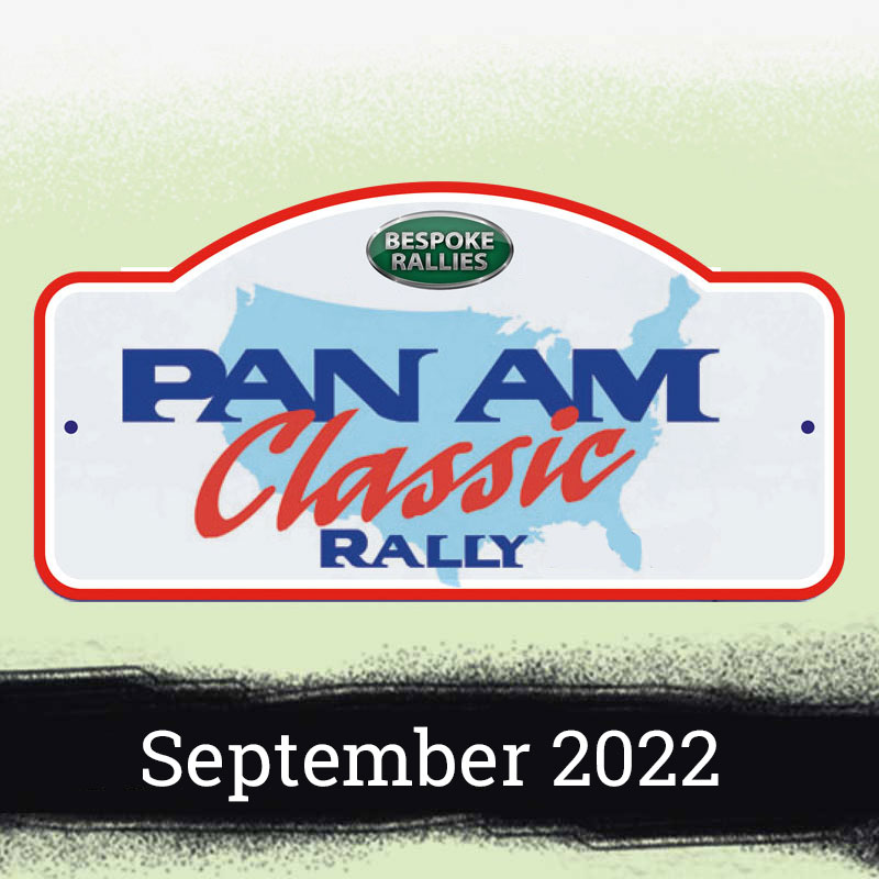 Bespoke Rallies | Pan Am Classic Rally 2022 | Classic Car Rally & Touring Event | May 2022
