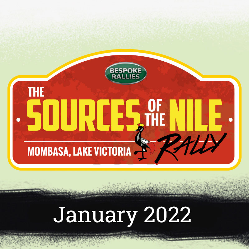 Bespoke Rallies   The Sources of the Nile Rally 2022   Classic Car Rally & Touring Event   January 2022