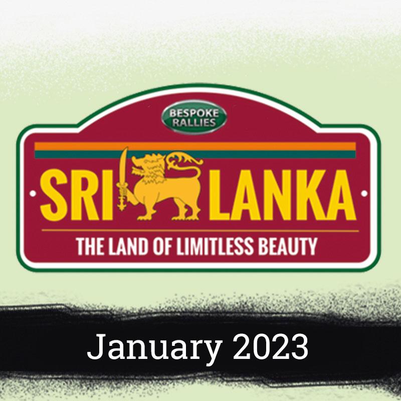 Bespoke Rallies   The Sri Lanka 2023   Classic Car Rally & Touring Event   May 2023