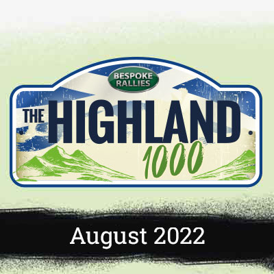 Bespoke Rallies | The Highland Rally 2022 | Classic Car Rally & Touring Event | September 2022