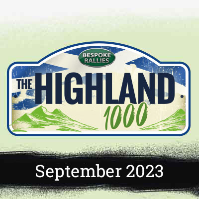 Bespoke Rallies   The Highland Rally 2023   Classic Car Rally & Touring Event   September 2023