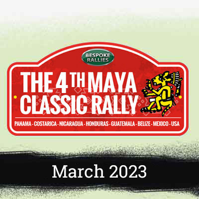 Bespoke Rallies   The 4th Maya Classic Rally 2023   Classic Car Rally & Touring Event   March 2023