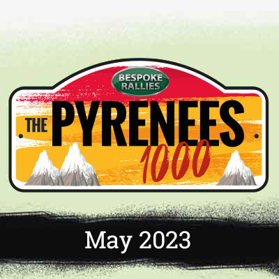 Bespoke Rallies   The Pyrenees 1000 2023   Classic Car Rally & Touring Event   May 2023