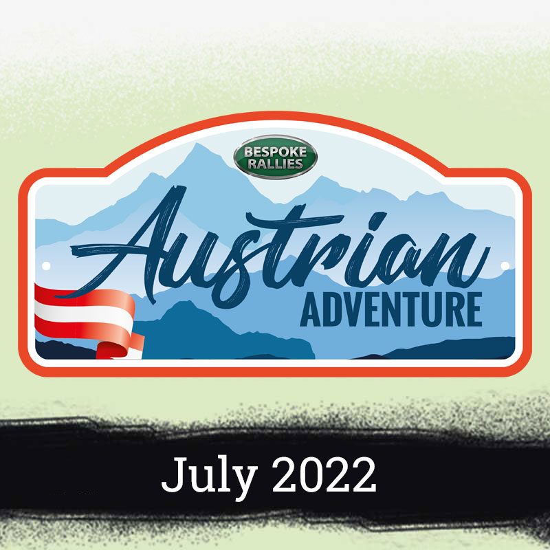 Bespoke Rallies   Austrian Adventure 2022   Classic Car Rally & Touring Event   May 2022