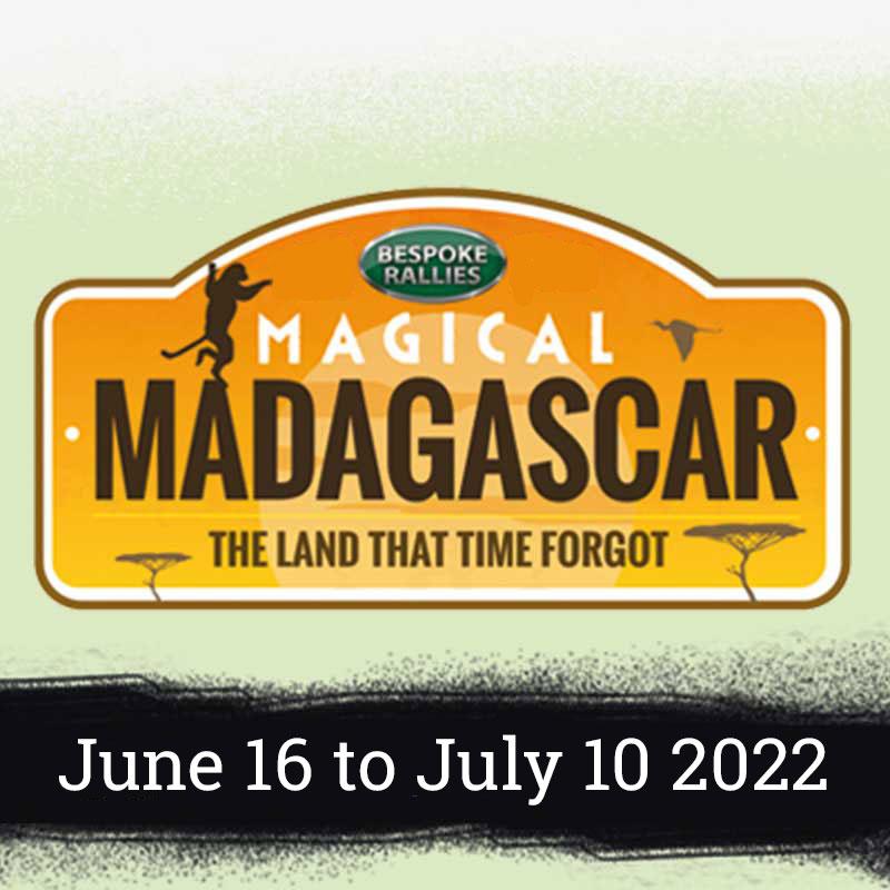 Bespoke Rallies   Magical Madagascar 2022   Classic Car Rally & Touring Event   June 2022