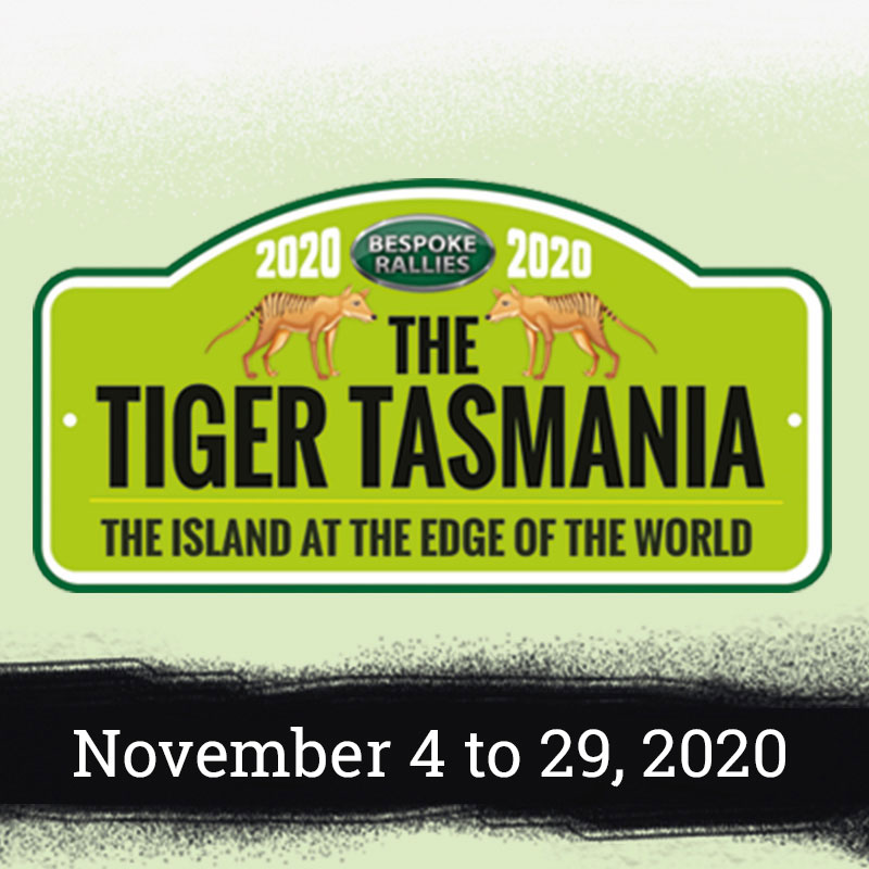 Bespoke Rallies | The Tiger Tasmania 2020 | Classic Car Rally & Touring Event | November 3 to 28 2020