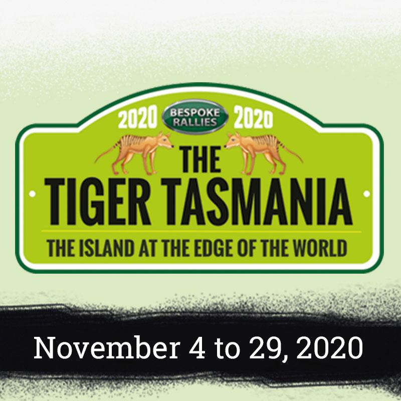Bespoke Rallies   The Tiger Tasmania 2020   Classic Car Rally & Touring Event   November 3 to 28 2020