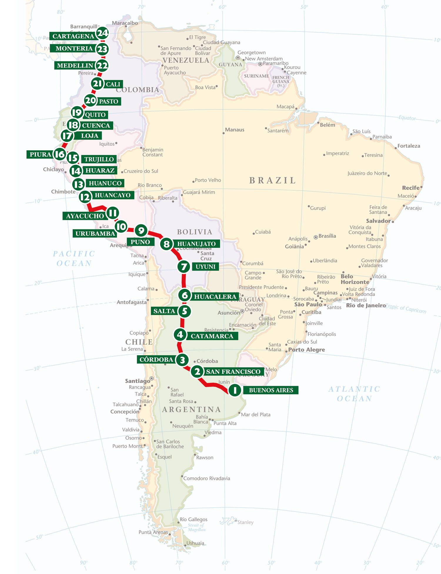 Bespoke Rallies   Grand Prix of South America 2023   Classic Car Rally