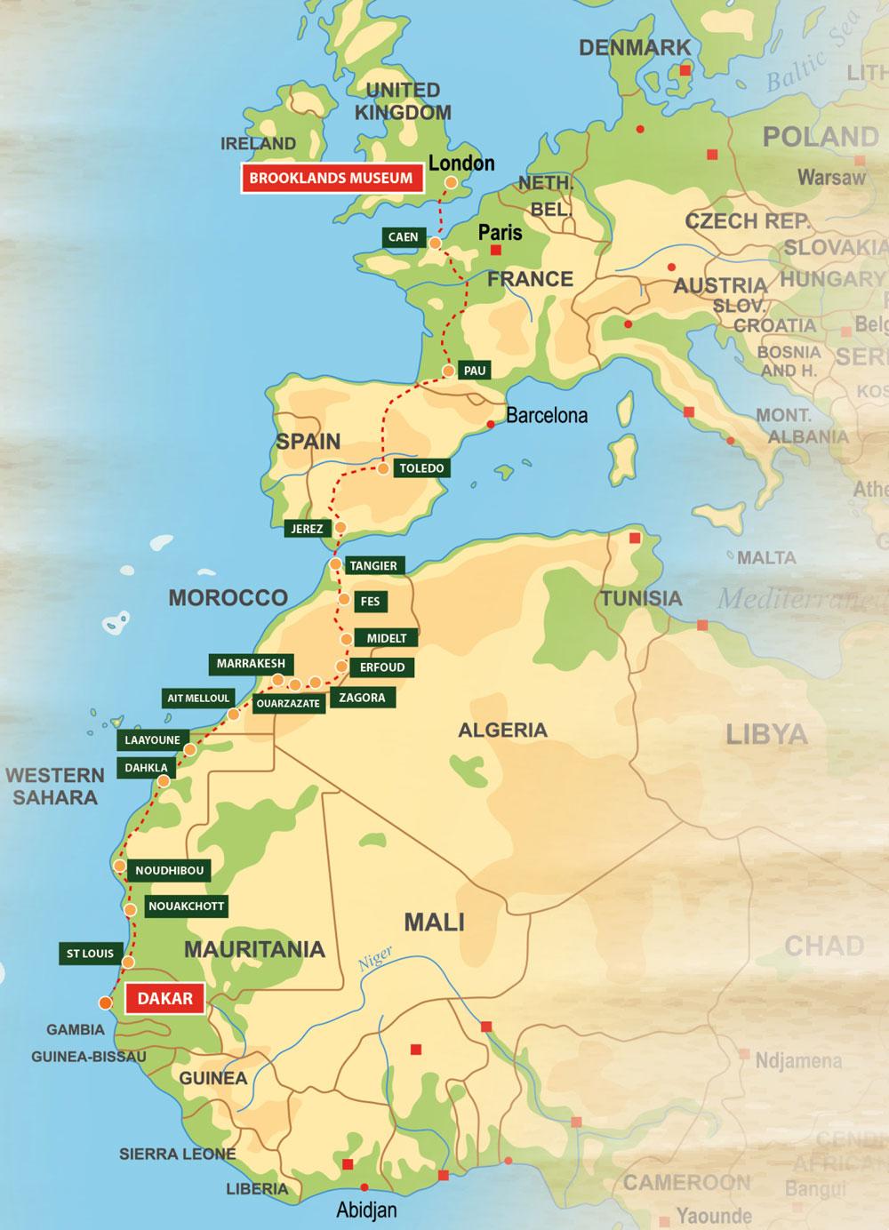 Bespoke Rallies | Dakar Enduro Rally 2021 | Car Rally & Touring Event