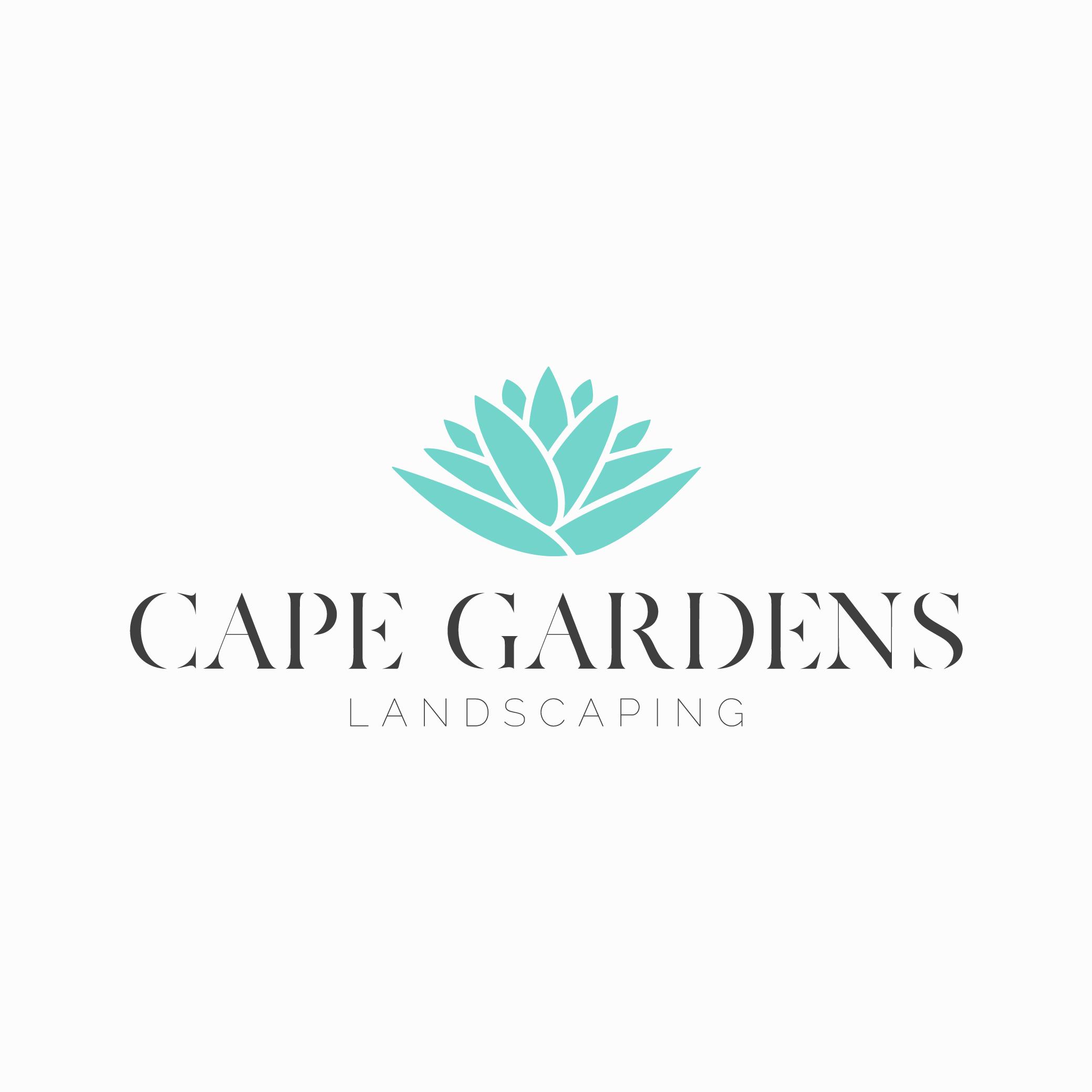 Cape Gardens New Logo Teal