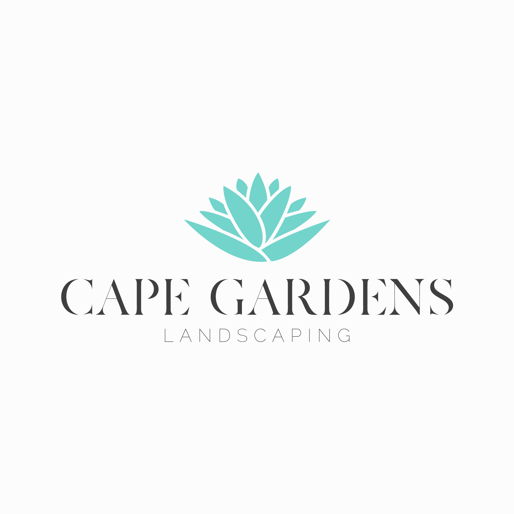 Cape Gardens New Logo Teal