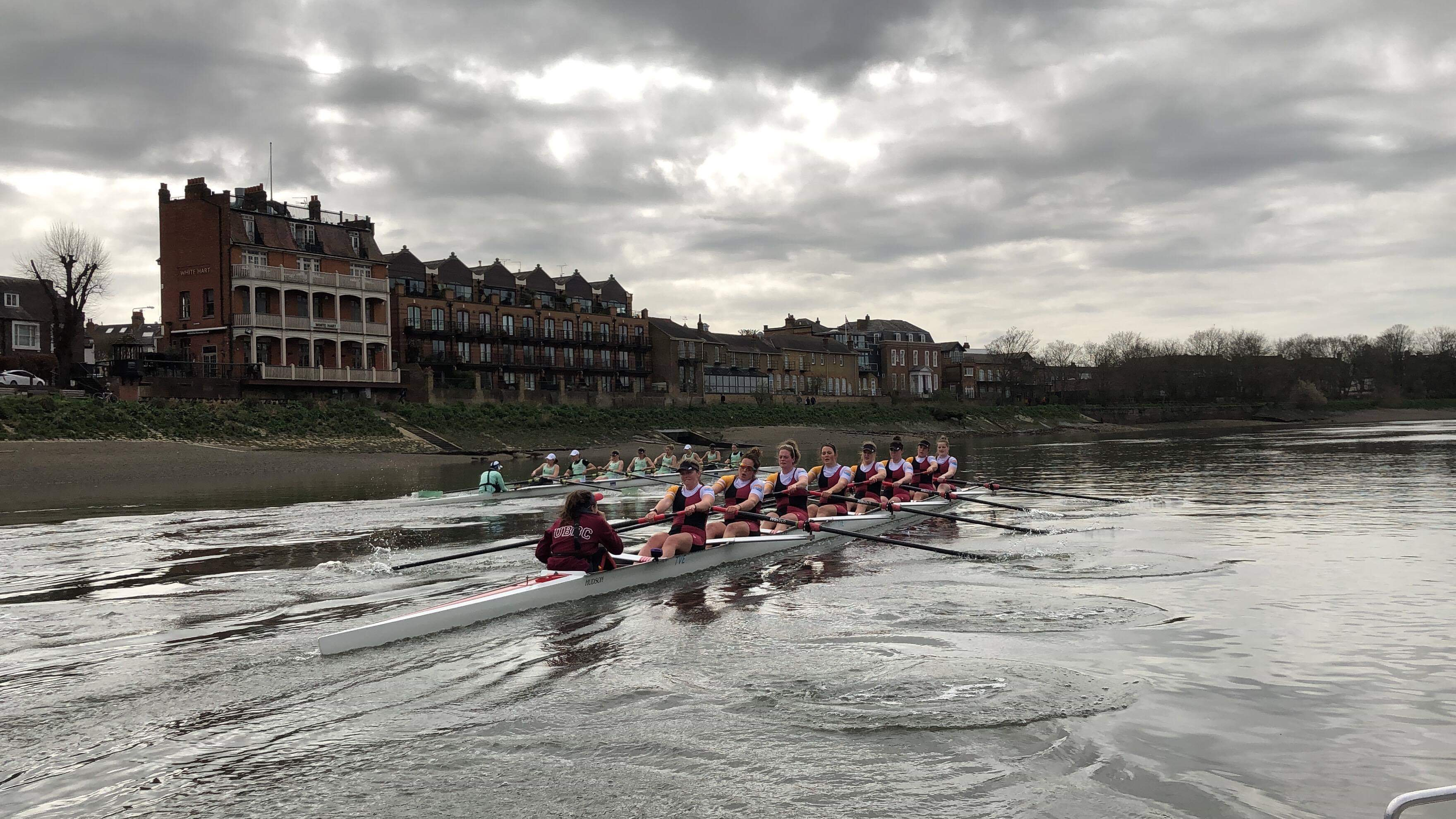 CUWBC stretching out their advantage out of Barnes Bridge