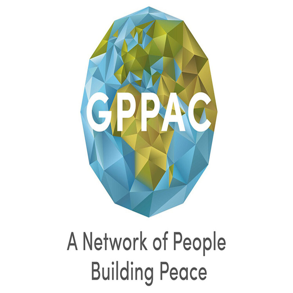 GPPAC A network of people building peace logo