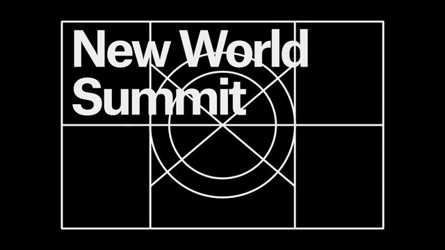 Catalystas Consulting Client: New World Summit