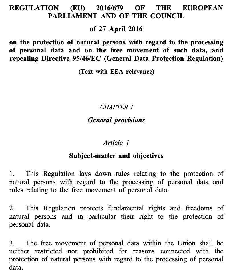 EU DAta Laws