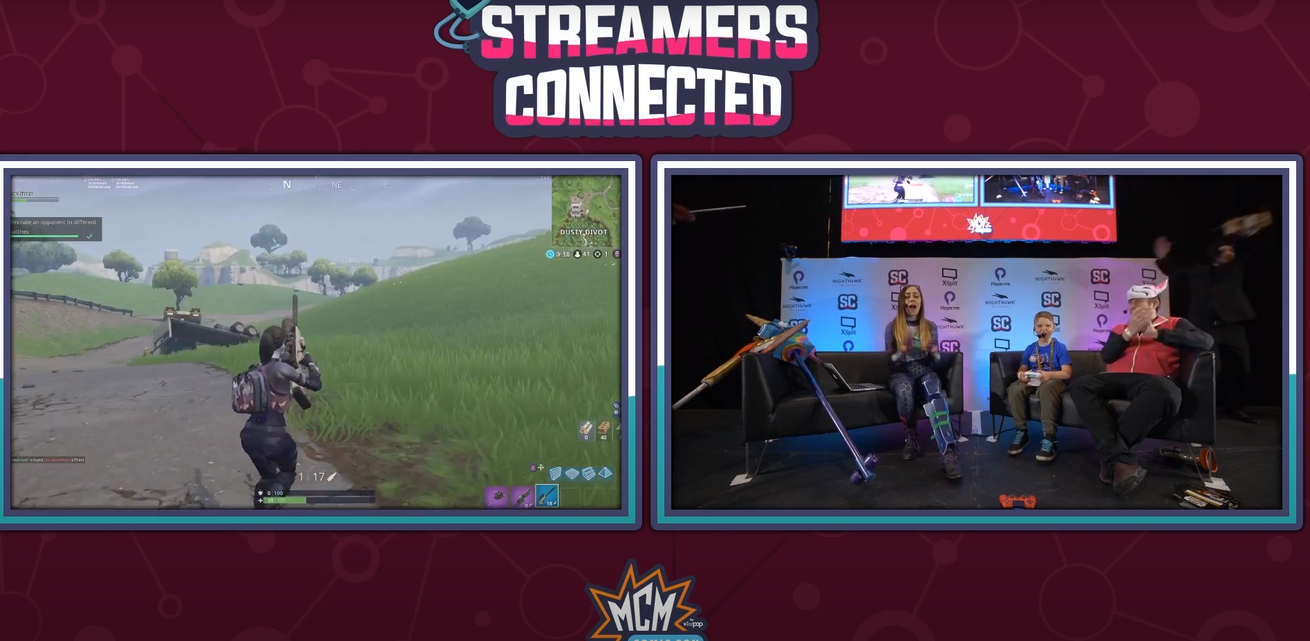 #StreamersConnected MCM Comic Con London Highlights Montage!